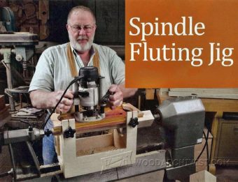 1246-Spindle Fluting Jig Plans
