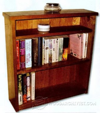 1248-Small Bookcase Plans