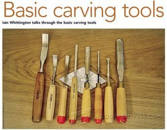 1252-Basic Carving Tools