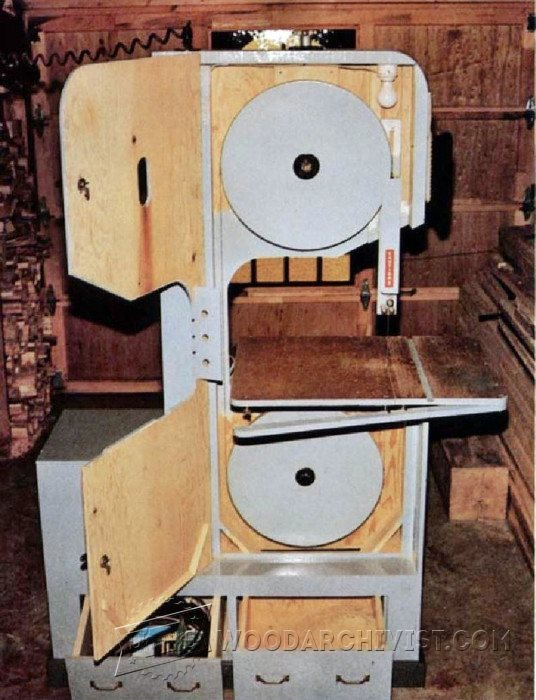 1263 Diy Band Saw Woodarchivist