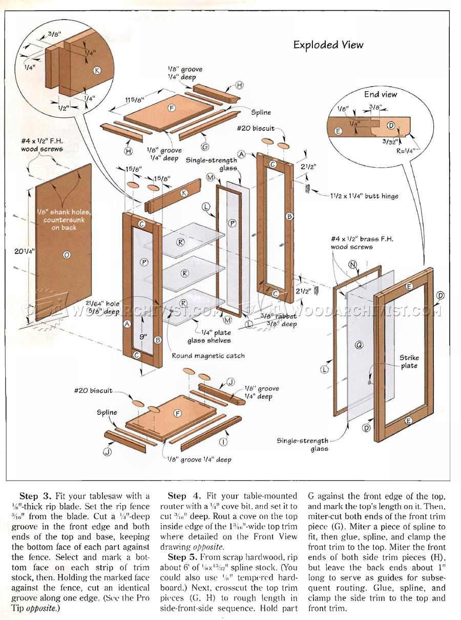 Indoor projects absolutely free plans. Welcome to absolutely free plans in the indoor projects section you will find free plans for bedroom furniture ...  sc 1 st  Woodworking Service Online & Display Cabinet Plans Free | Woodworking Service Online