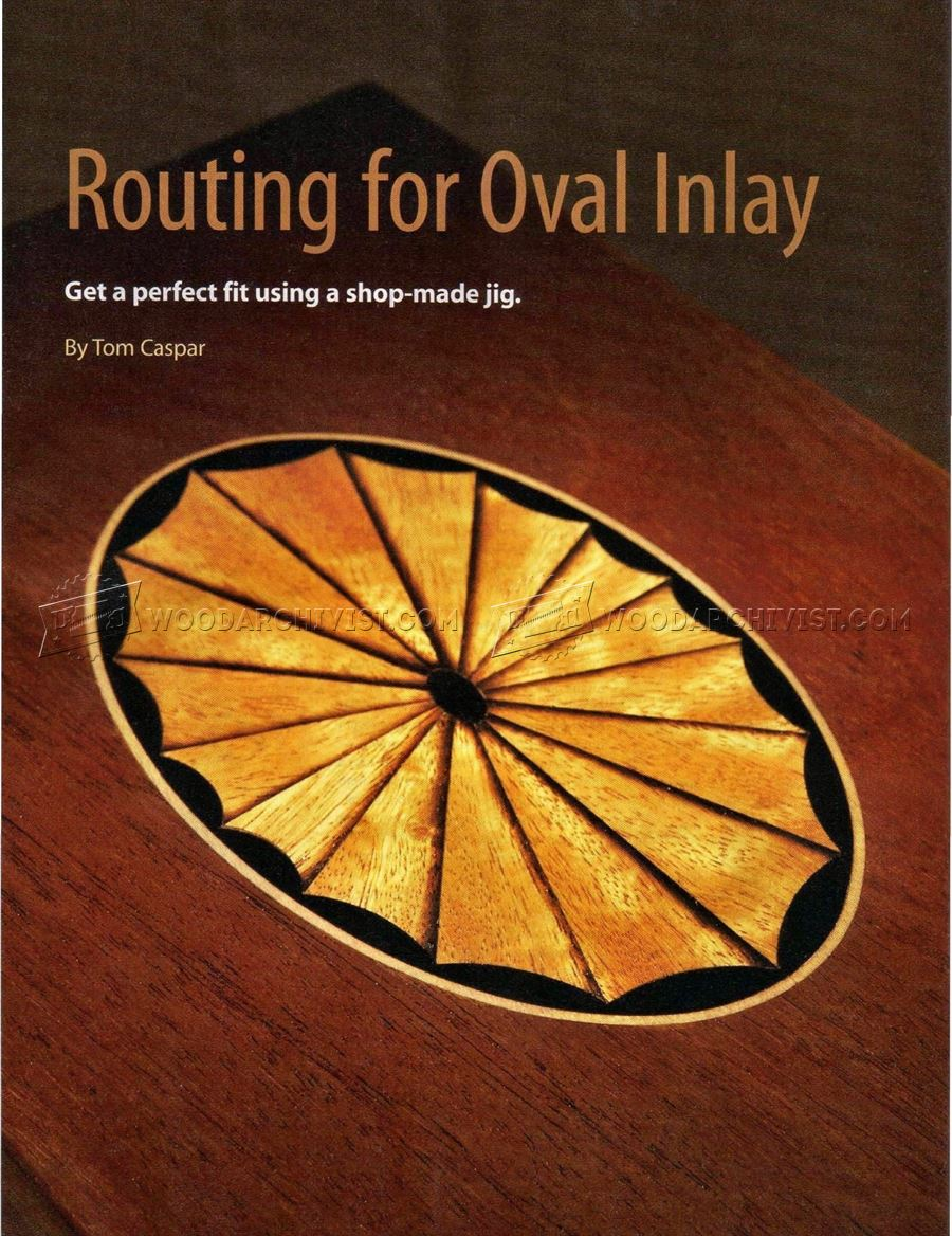 Routing for Oval Inlay