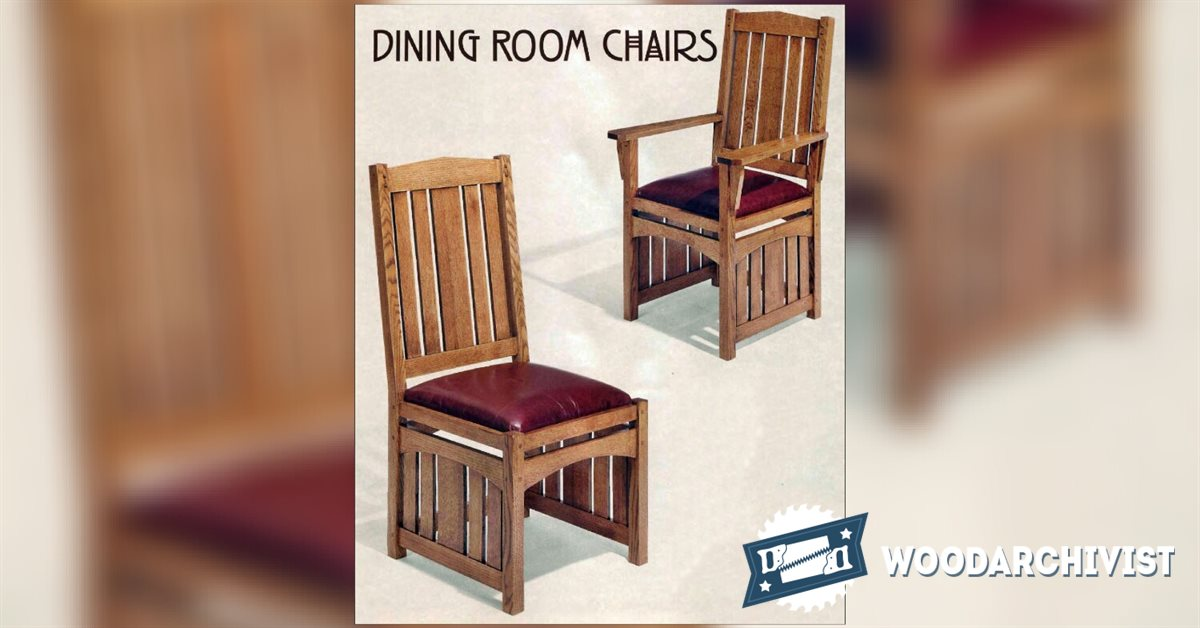 Plans for dining room