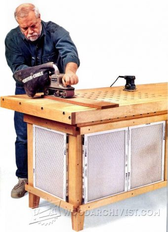 Downdraft Sanding Table Plans Woodarchivist