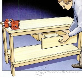 1309-Easy Workbench Plans