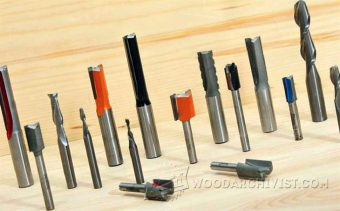 1319-Straight Router Cutters