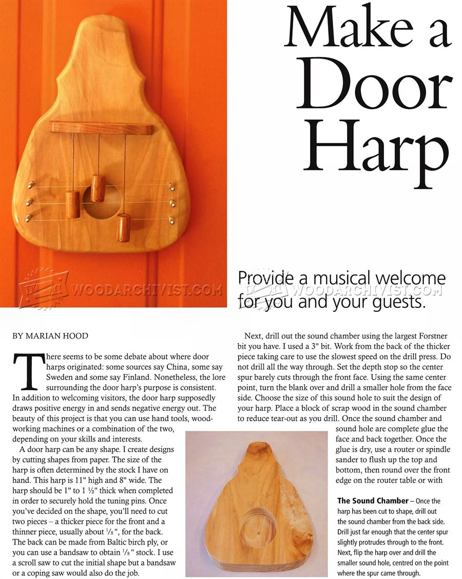 Making Door Harp