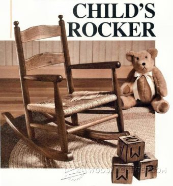 1324-Childs Rocking Chair Plans