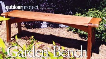 Japanese Garden Bench Plans Woodarchivist