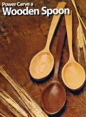 1343-Power Carving Wooden Spoon