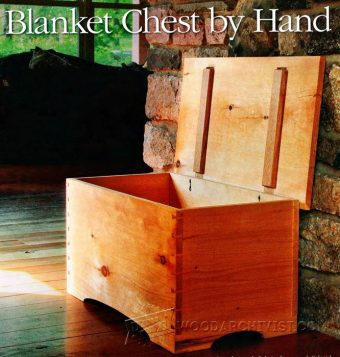 1344-Blanket Chest Plan