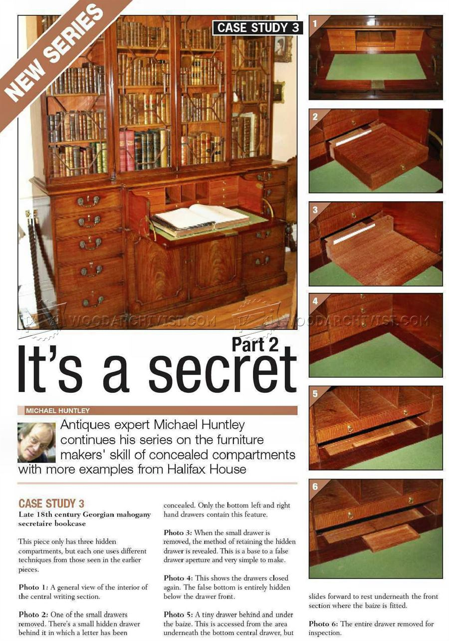 Furniture Secret Compartments Furniture Secret Compartments ...