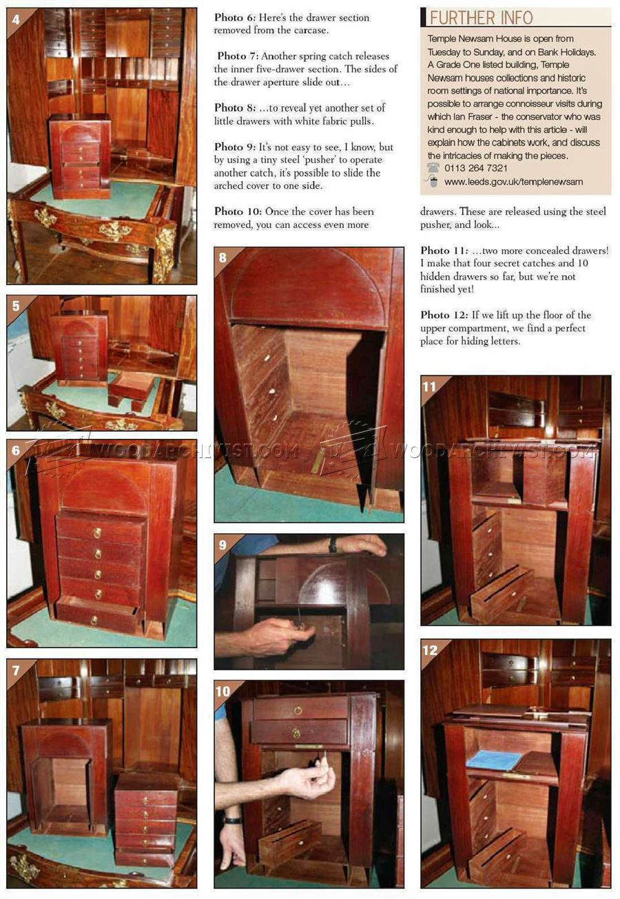 ... Furniture Secret Compartments ...