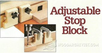 1348-Adjustable Stop Block