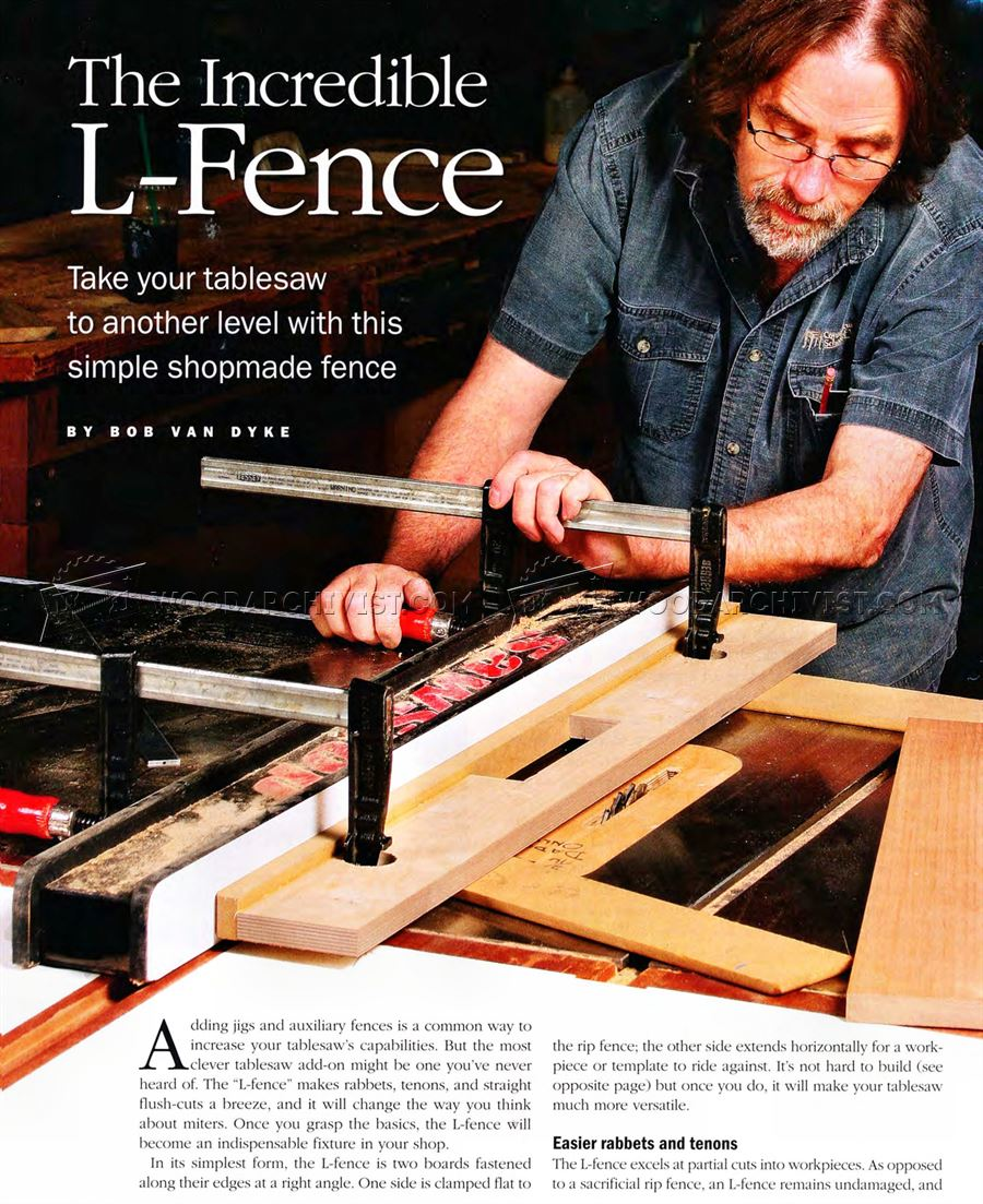 Table Saw L-Fence