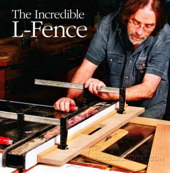 1350-Table Saw L-Fence