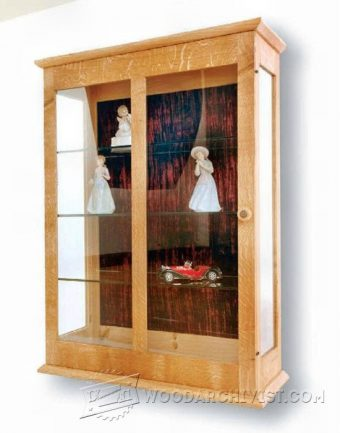 1356-Display Cabinet Plan