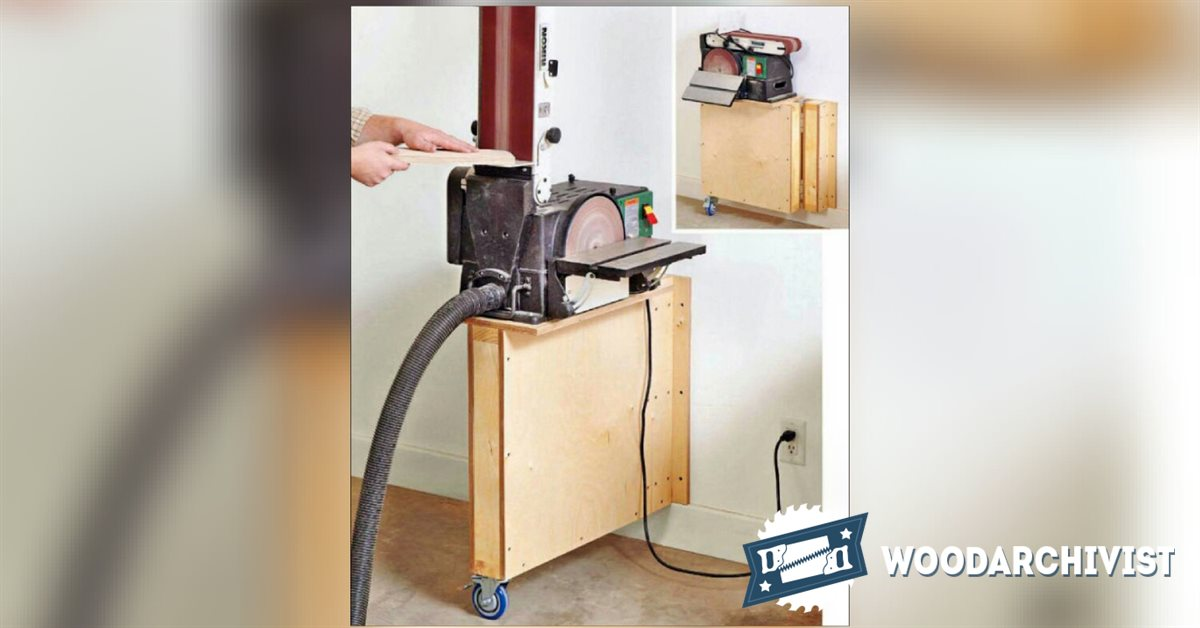 1364 Swing Out Tool Stand Plans Woodarchivist