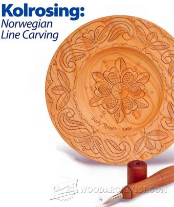1369-Line Carving - Wood Carving Techniques