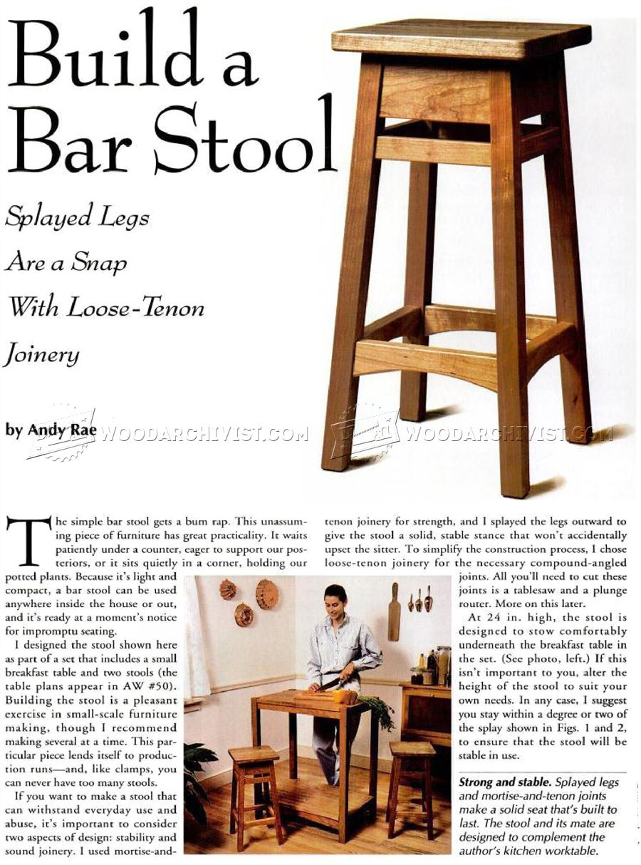 DIY Bar Stool  Build Your Own Bar Stools7