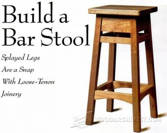 1370-DIY Bar Stool