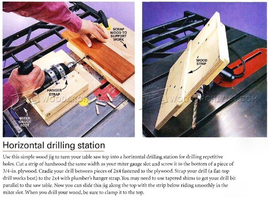 Horizontal Drilling Station