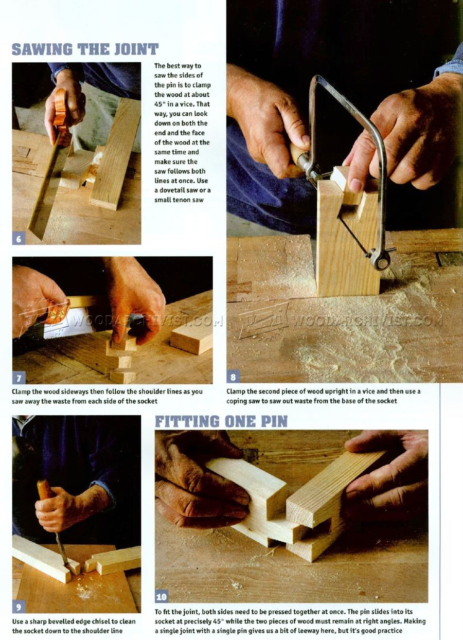 Making Twisted Dovetails