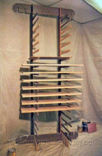 1381-Knock-Down Drying Rack