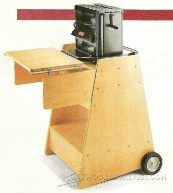 1383-Portable Planer Stand Plans