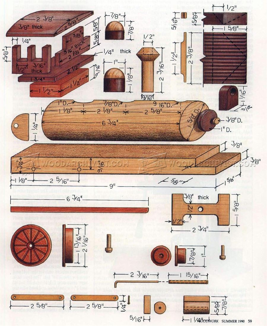Wooden locomotive plans woodarchivist for Toy plans