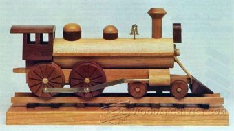 1385-Wooden Locomotive Plans