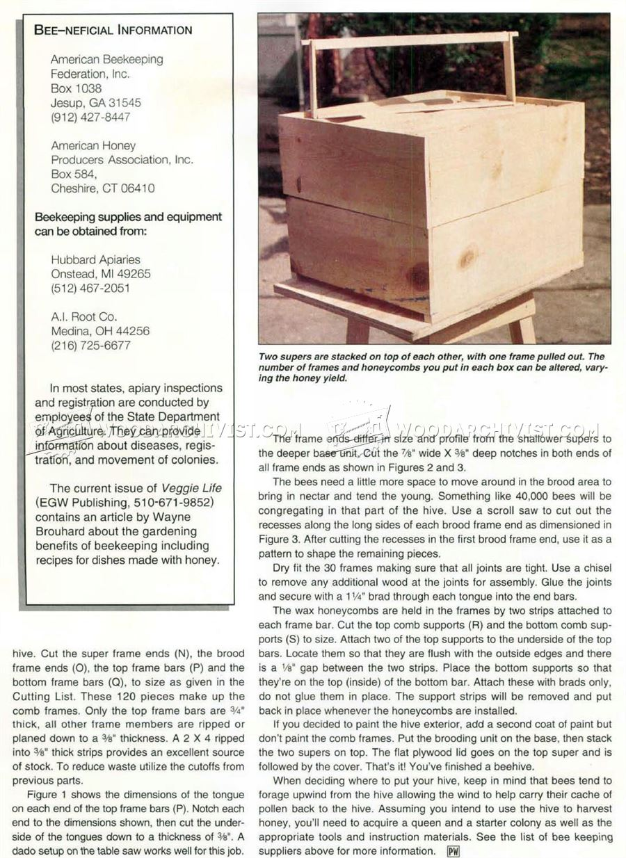 how to build a nuc beehive