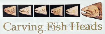 1401-Carving Fish Heads - Wood Carving Patterns