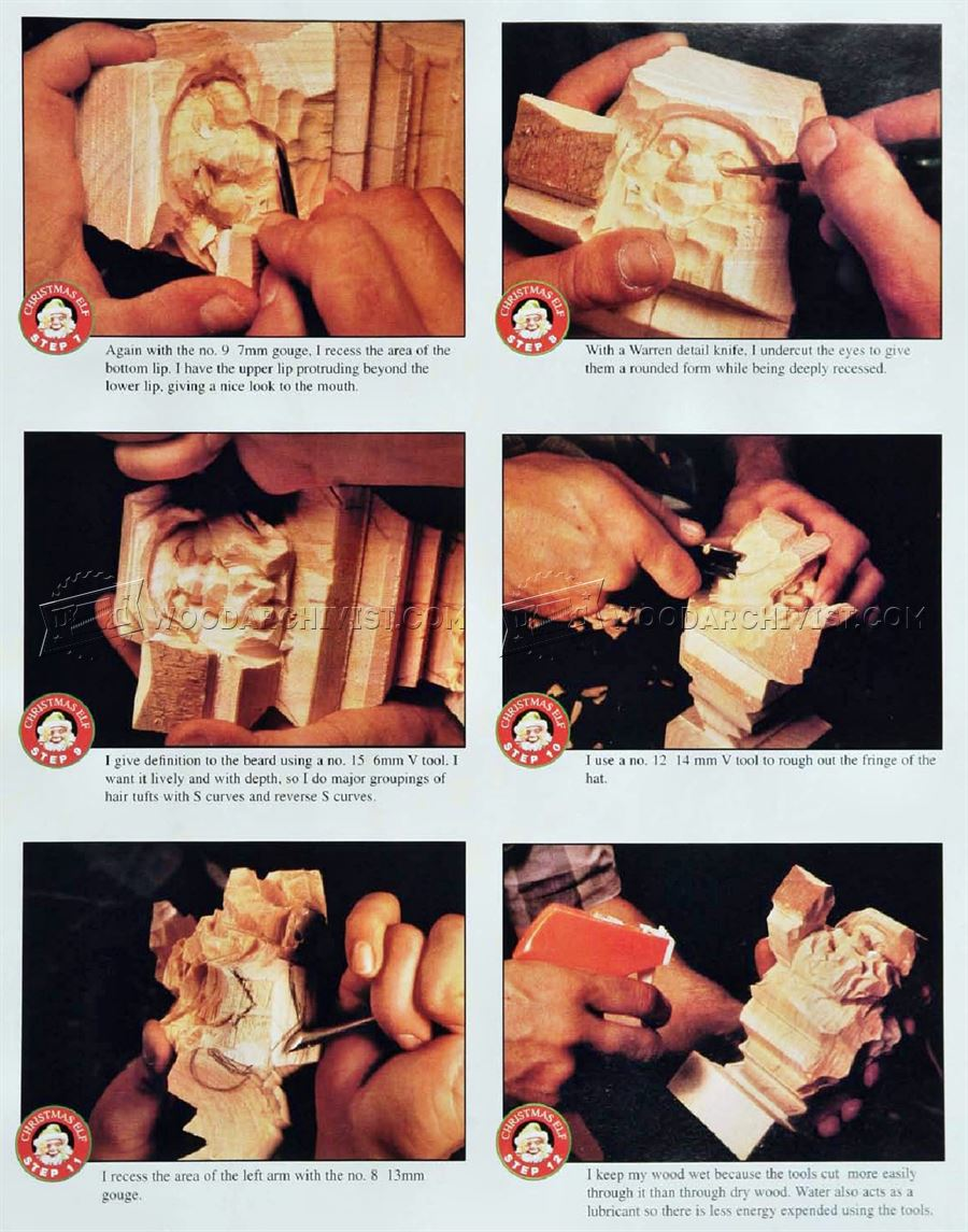 Carving Elf - Wood Carving Patterns