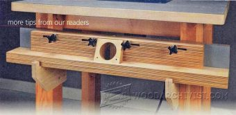 1405-Router Table Fence Storage
