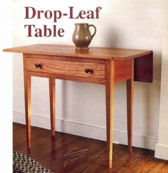 1406-Drop-Leaf Table Plans