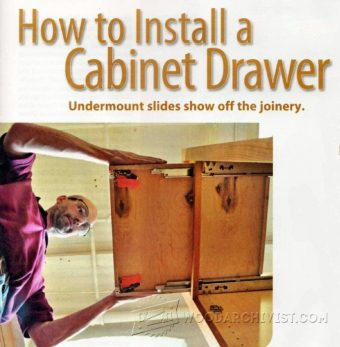 1411-How to Install Cabinet Drawer