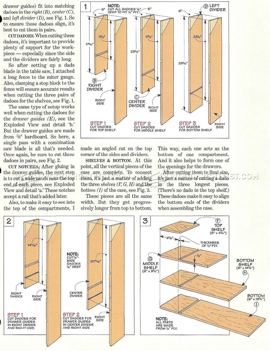 Dowel Storage Rack Plans Woodarchivist