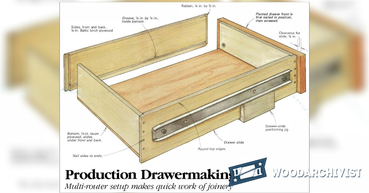 Drawer Construction Jig • WoodArchivist