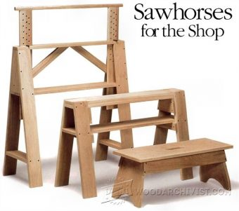 1425-Sawhorses for The Shop