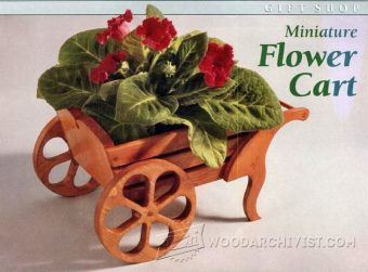 1433-Miniature Flower Cart Plan