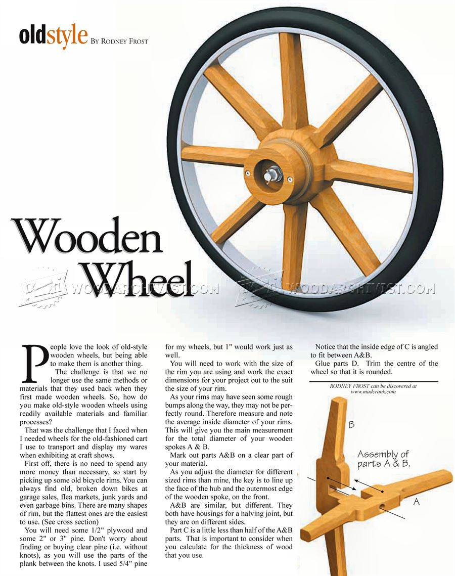 Making Wooden Wheel