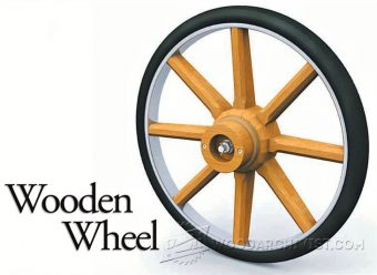 1437-Making Wooden Wheel