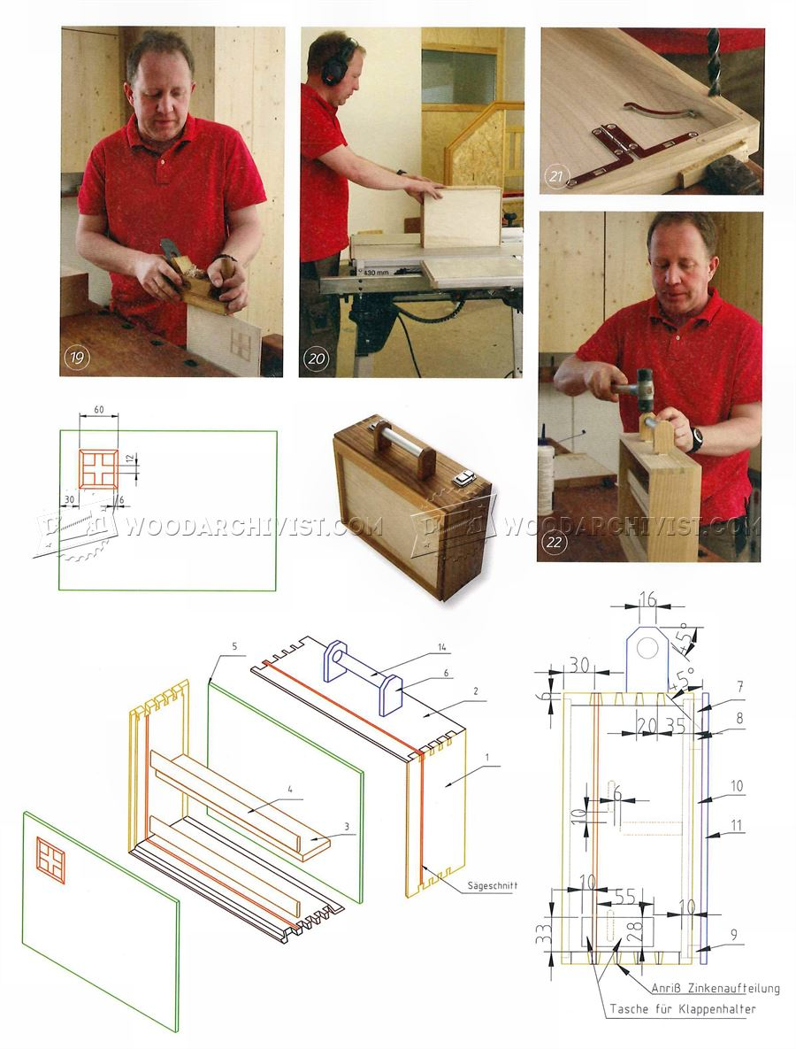 Wooden First Aid Box Plans
