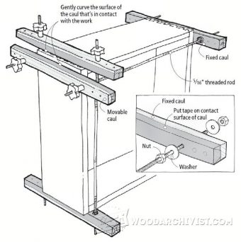 1445-Drawer and Box Clamping Jig
