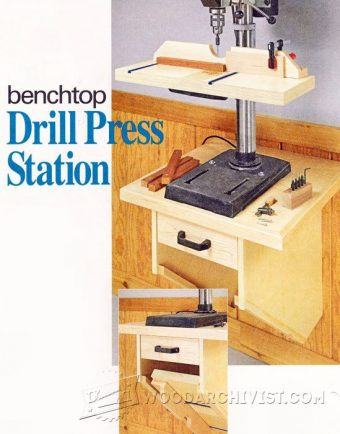1456-Drill Press Stand Plan