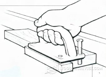 1467-DIY Router Table Push Block