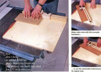 1473-Table Saw Miter Sled Plans