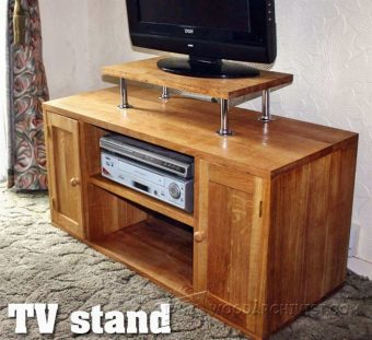 1474-TV Stand Plans