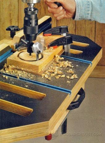 1475-Drill Press Table Plans